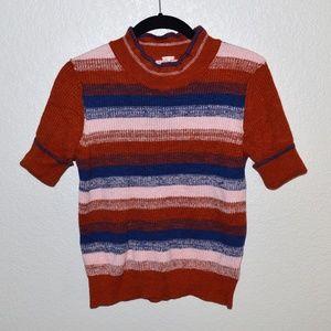 Free People Short Sleeve Sweater